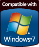 Compatible with Windows® 7